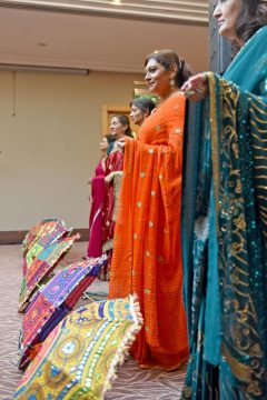 Meet and Mingle launch the event with a Sari Fashion show - Carers week launch night at the Copthorne Hotel hosted by Slough Carers Support - Photo: Emma Sheppard - 13/06/17