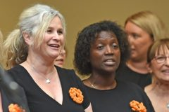 Pop Goes the Choir - Carers week launch night at the Copthorne Hotel hosted by Slough Carers Support - Photo: Emma Sheppard - 13/06/17