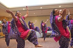 Bhangra display with Apna Virsa - Carers week launch night at the Copthorne Hotel hosted by Slough Carers Support - Photo: Emma Sheppard - 13/06/17
