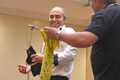Magician Mark Foot - Carers week launch night at the Copthorne Hotel hosted by Slough Carers Support - Photo: Emma Sheppard - 13/06/17