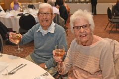 Mavis and John Peck - Carers week launch night at the Copthorne Hotel hosted by Slough Carers Support - Photo: Emma Sheppard - 13/06/17