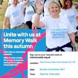 Alzheimers Society – Memory Walk