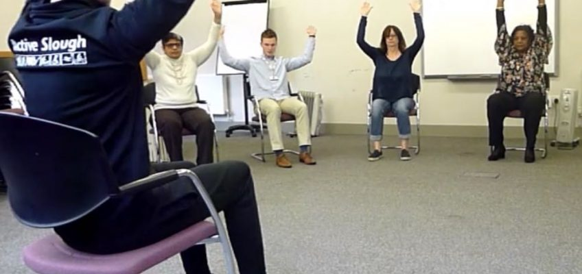 Seated Exercise Class Video