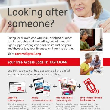 New FREE digital resources to help to make caring easier
